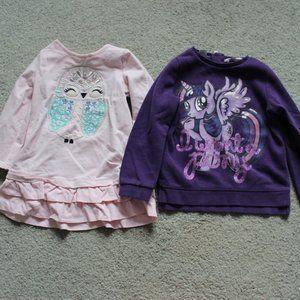 Gymboree H&M Girls 2T-3T Long Sleeve Sweatshirt 2